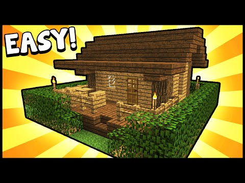 Small Survival Starter House! - Minecraft Tutorial