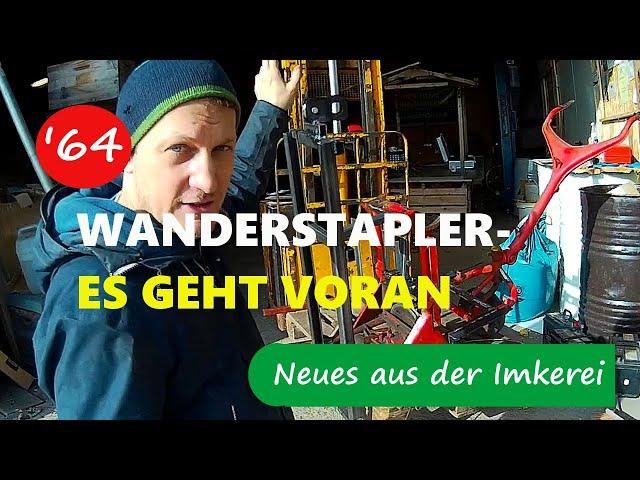 Eigenbau elektrische Wanderhilfe - Abschluss Schweißarbeiten - Neues aus der Imkerei 64