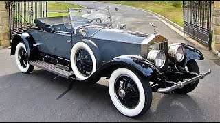1926 rolls royce silver ghost piccadilly roadster youtube 1926 rolls royce silver ghost