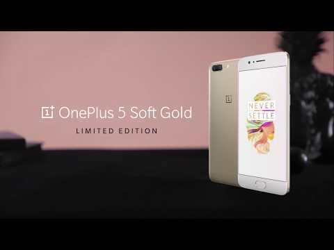 OnePlus 5 - Soft Gold