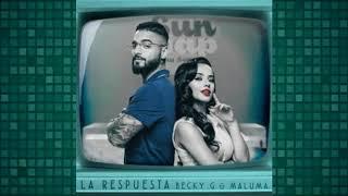Becky G Feat. Maluma - La Respuesta (Audio)