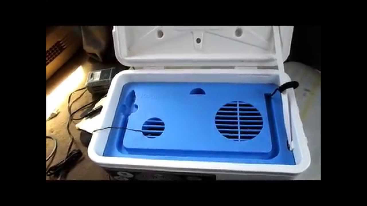 12 Volt Air conditioner KoolerAire review Truck camper Van dwelling tent  boating prepper SHTF Unit?