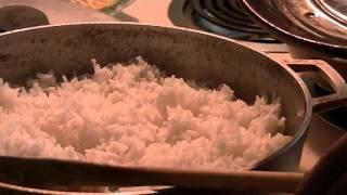 West African Spinach Stew With Jasmine Rice
