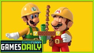 Super Mario Maker 2 Details! - Kinda Funny Games Daily 05.16.19