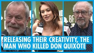 Terry Gilliam 'Adam Driver is the best actor of his generation' - LFF Red Carpet Interviews