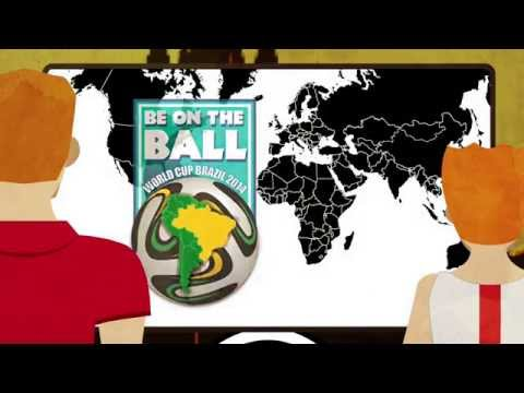 'Be on the Ball' and have a safe trip to Brazil