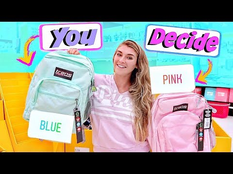 Instagram Controls My Back To School Shopping! GIVEAWAY