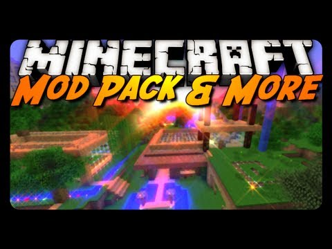 minecraft-mod-review:-antvenom-mod-pack!?---bwg4-review---peaceful-map-update!