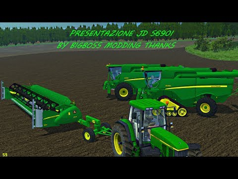 PRESENTATION FOR JOHN DEERE S690I BY BIG BOSS MODDING THANKS