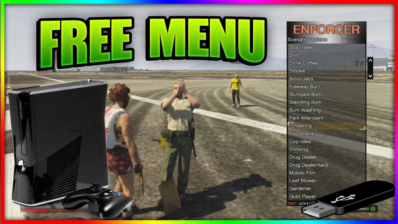 GTA 5 Enforcer v2 9 4 / Online Mod Menu / +CRACKED / +Download