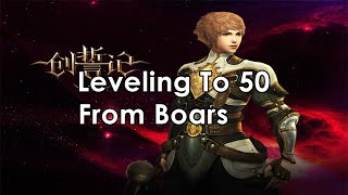 Aitan Arena: Aika Online Private Server: Leveling To 50 Of A Boar!