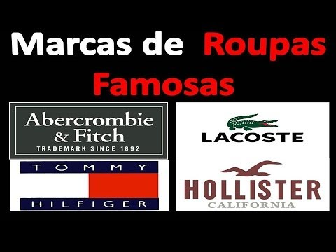 3a5711c4cd669 Marcas de Roupas Famosas - 90% mais baratas e 100% originais, as melhores  marcas!!!