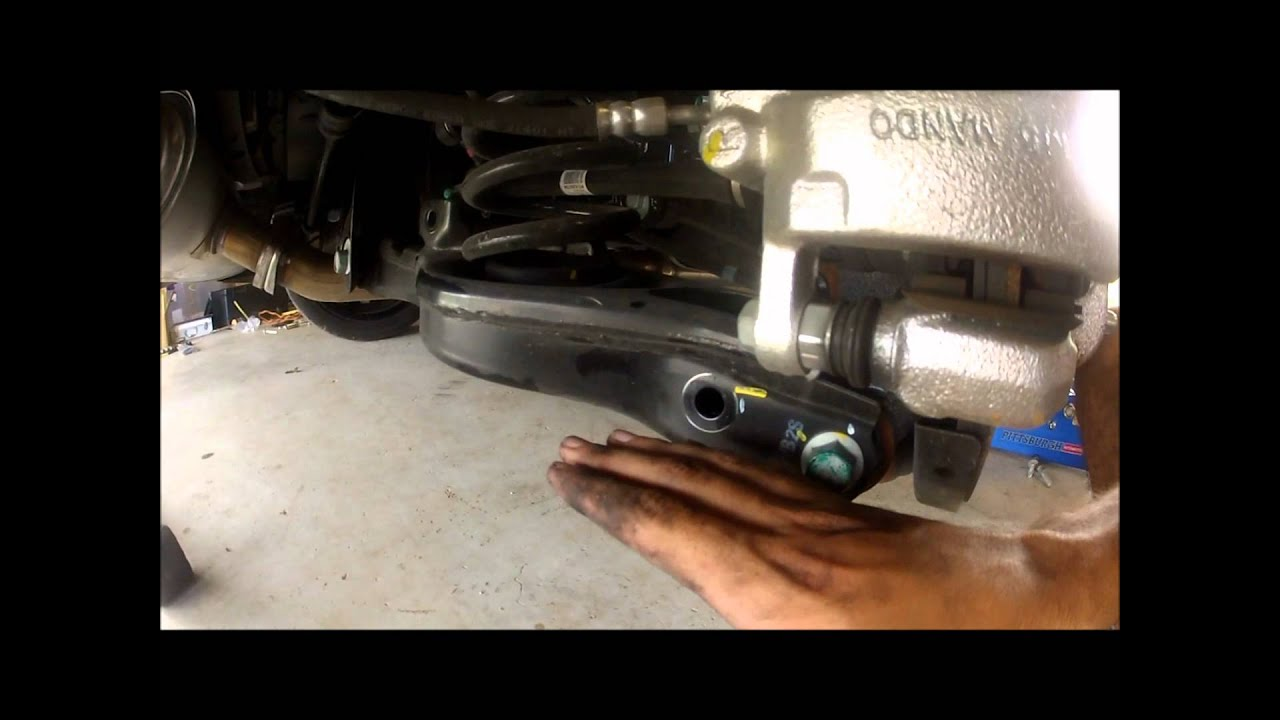 2013 Genesis Coupe Isc Coilover Diy Rear Suspension Youtube
