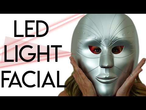 led-light-therapy-facial:-before-&-after