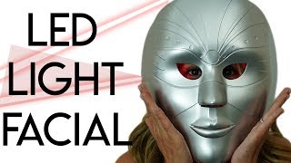 LED Light Therapy Facial: Before & After