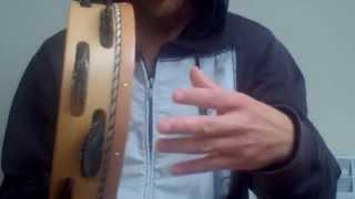 Pandereta Gallega: Ritmo básico de Rumba