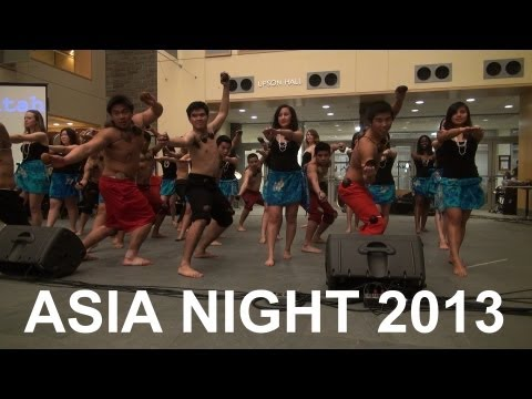 Asia Night 2013 Hawaii and Filipino Club