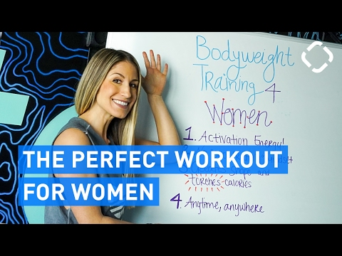 Training for Women: Why Bodyweight Training is Ideal!