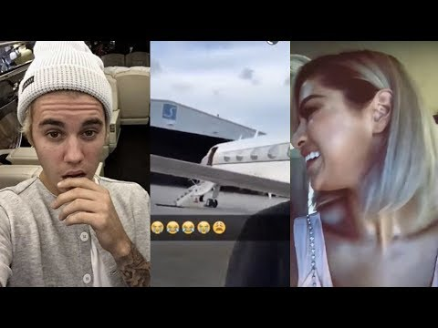 Justin Bieber & Selena Gomez On Private Jet For Romantic Holiday