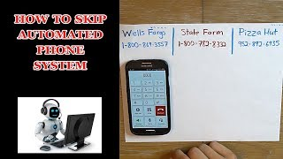 How to Skip Automated Phone Systems