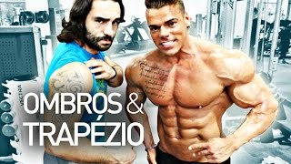 Plano Treino Hipertrofia - Dia 4 Ombro e Trapézio  /Bodybuilding Plan - Day 4 Shoulders and Traps!