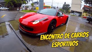 ENCONTRO DE CARROS ESPORTIVOS