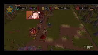 Cara bermain Roller coaster tycoon touch - Build your theme park screenshot 3