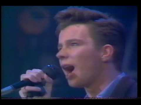 Rick Astley  She Wants to Dance With Me  Take Me to Your Heart 1988 TV