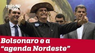 Jair Bolsonaro prepara viagem ao nordeste