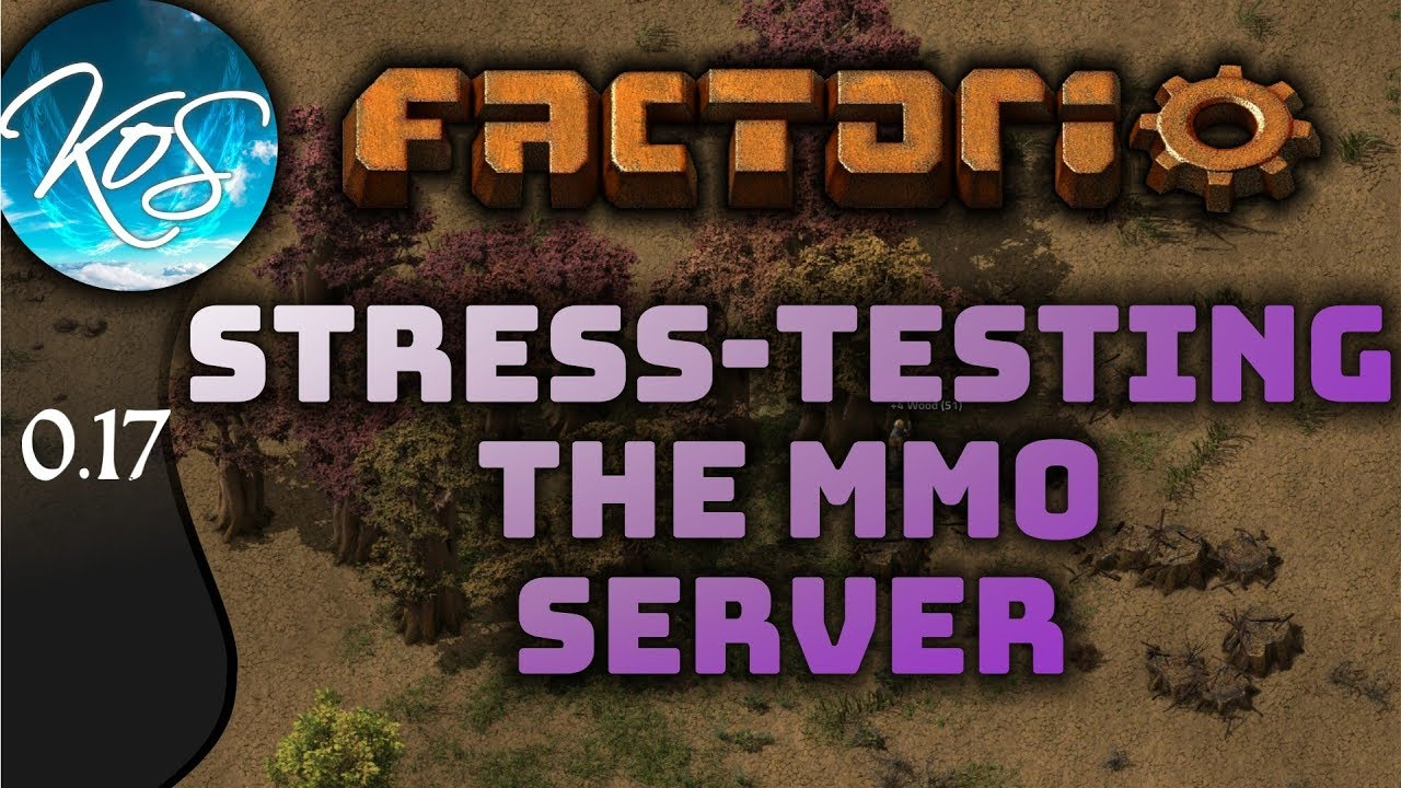 Steam Community :: Video :: Factorio Stress Test! Come join us to