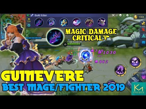 Guinevere Best Fighter/Mage Gameplay | Mobile Legends Bang Bang Experiment thumbnail