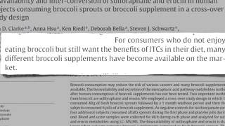 Broccoli Sprouts vs Supplements YouTube Thumbnail