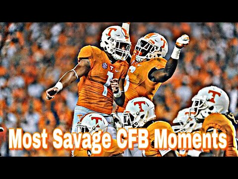 Most Savage College Football Moments Of All Time