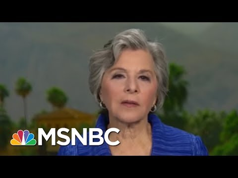 """Former Sen Barbara Boxer: We Have """"Grabber-In-Chief"""" As President   The Beat With Ari Melber   MSNBC"""