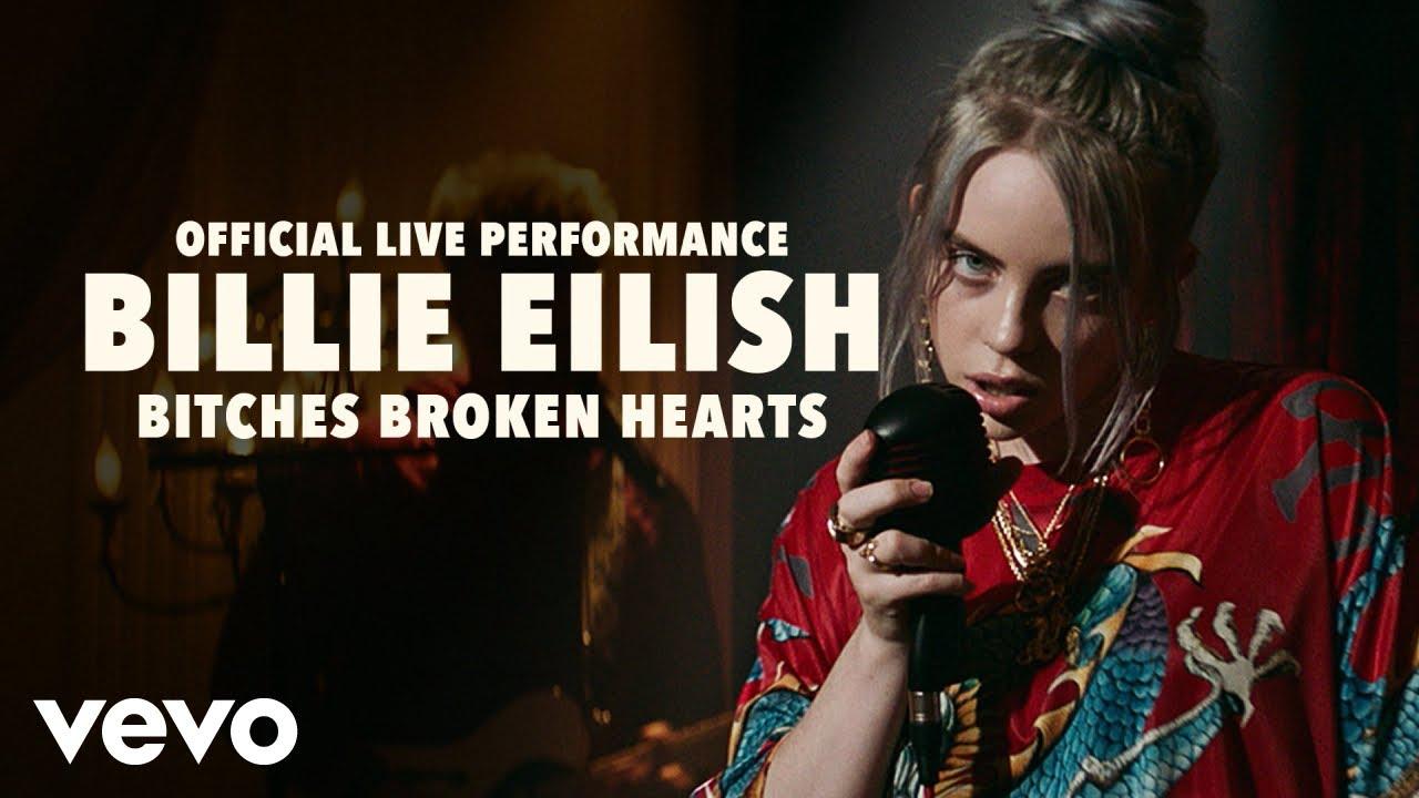 Billie Eilish - bitches broken hearts (Official Live Performance) | Vevo LIFT