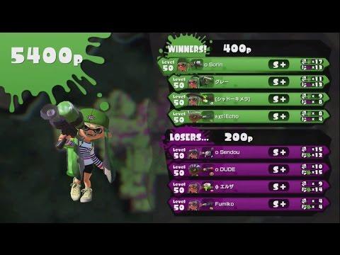 【Splatoon】Squid Colosseum: Team Olive clash (Sorin vs DUDE & Sendou)