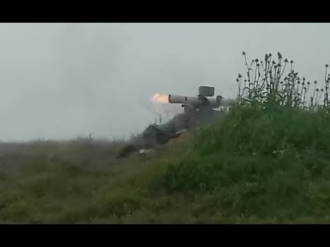 Jihadists using Anti-Tank Guided Missiles | April 2019 | Syria