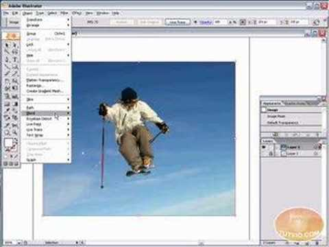 Vectorize Image Photoshop >> Adobe Illustrator Tutorial! LIVE TRACE! Vectorize photos! - YouTube
