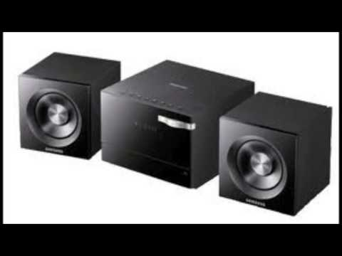 Sound test of mechanical noise from samsung cd player in MM-D320
