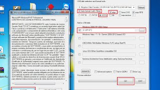Crear USB Booteable Windows XP, 7, 8.1