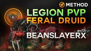 Feral Druid PvP in Legion with BSX