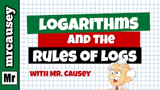 Logarithms Explained and Rules of Logarithms
