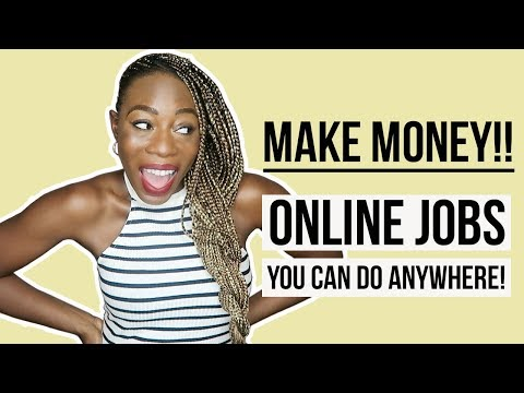 9 Online Work From Home Jobs You Can Do In 2018 (From Nigeria & Anywhere) | 💰 | TeefahXOXO