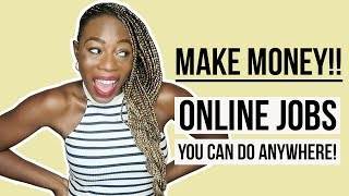 Hey fam! this video is all about legal online work from home jobs aka side hustles. because i mean…who can say no to extra income right?! in vide...