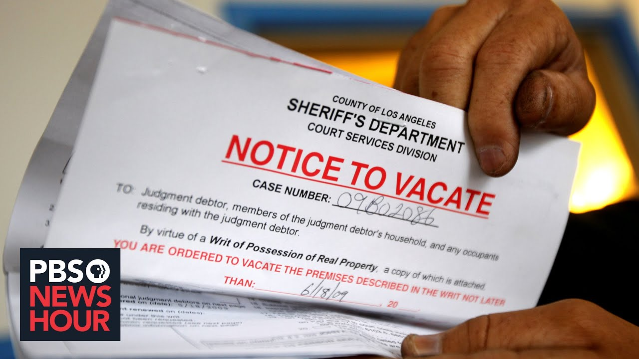 News Wrap: Federal appeals court finds CDC eviction moratorium unlawful
