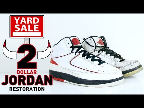 2 Dollar Yard Sale Jordan 2 Restoration by Vick Almighty.