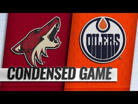 01/12/19 Condensed Game: Coyotes @ Oilers