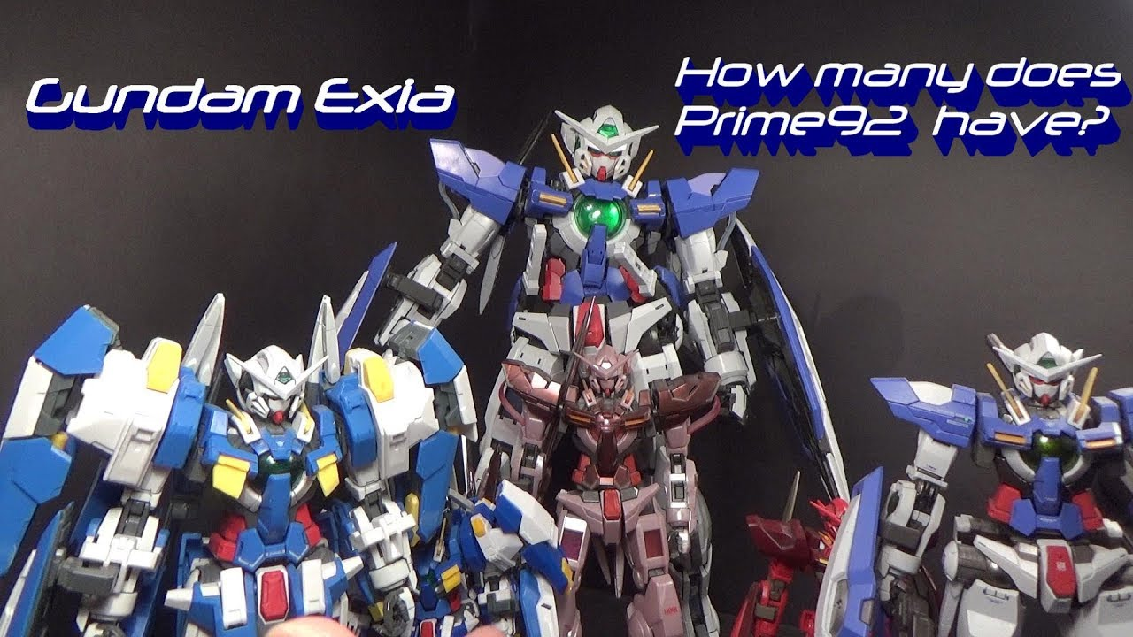 Download How many Exia's does Prime92 have?