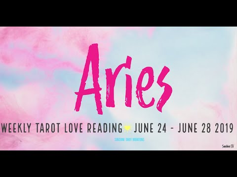 ARIES 4th Week June 2019💕THIS IS A 360 Turn of EVENTS!!! SLOW DOWN AND  ENJOY THIS MOMENT  💕
