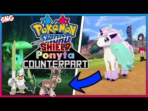 The Sword Counterpart To Galarian Ponyta - Pokemon Sword And Shield
